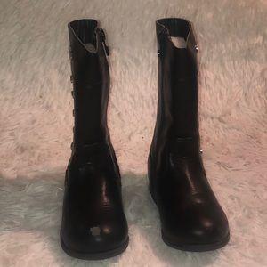 Michael Kors black toddlers girls boots